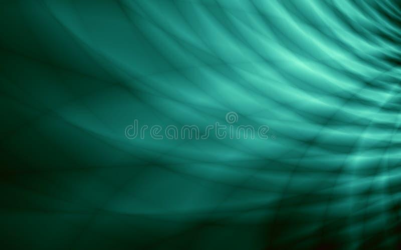 Зеленые широкие яркие обои изображения иллюстрация вектора