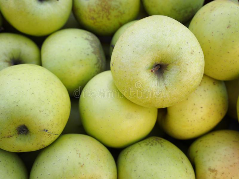 Зеленые яблоки Питание стоковые изображения rf