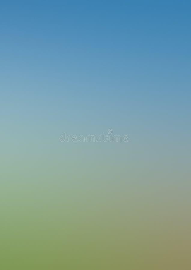 Зеленый белый голубой абстрактный градиент нерезкости предпосылки иллюстрация вектора