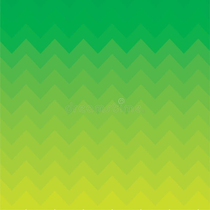 Зеленый зигзаг предпосылки стоковое фото rf