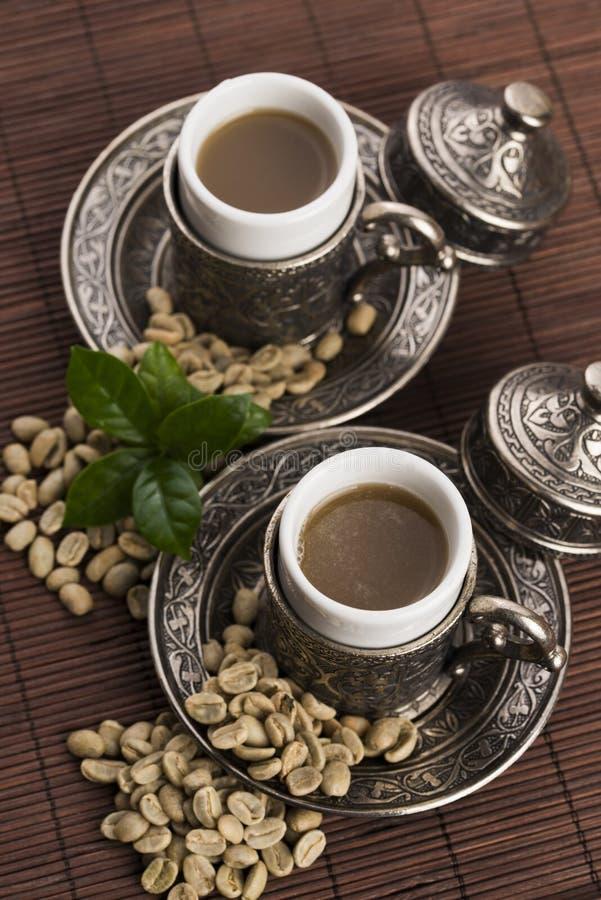 Зеленый кофе стоковая фотография rf
