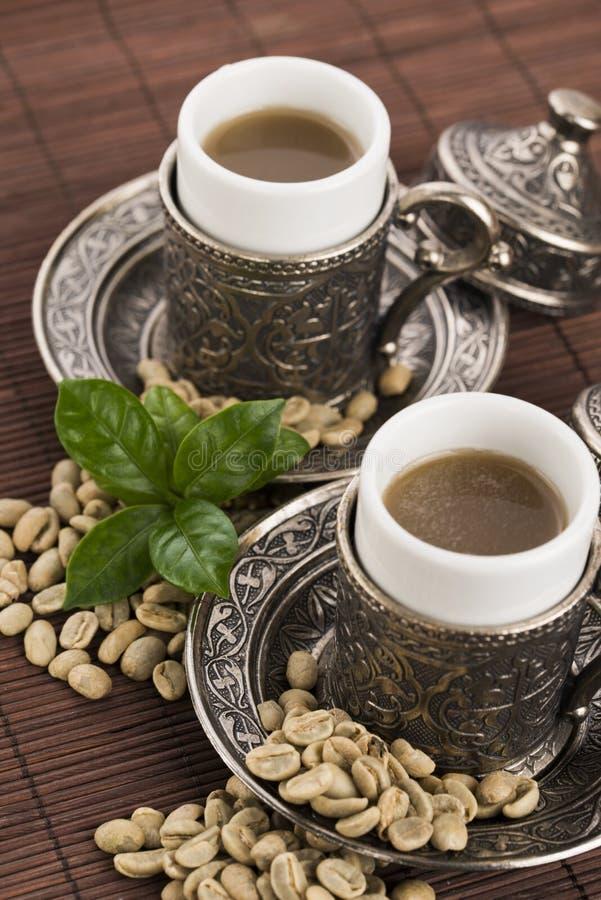 Зеленый кофе стоковая фотография