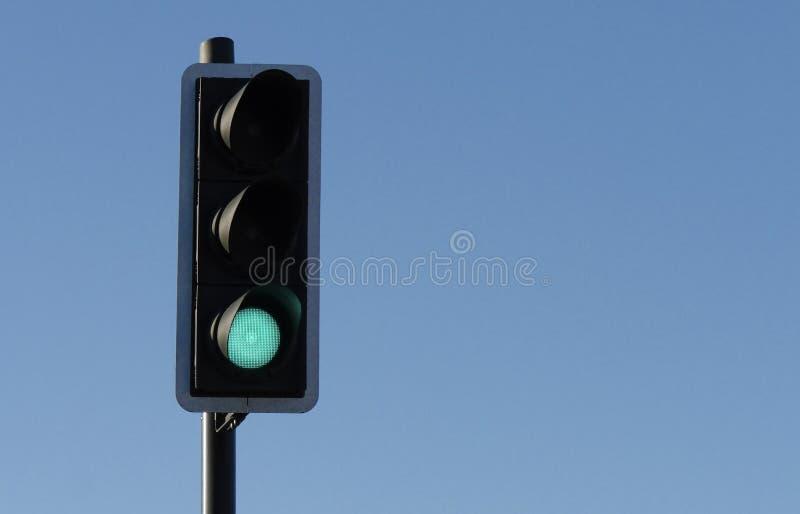 Зеленый светофор стоковые фото