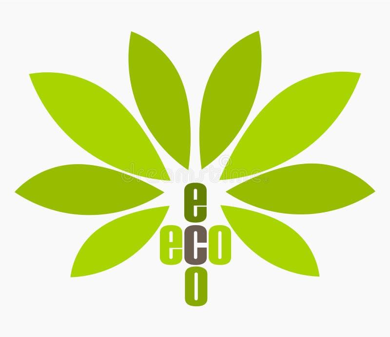 Символ Eco иллюстрация штока