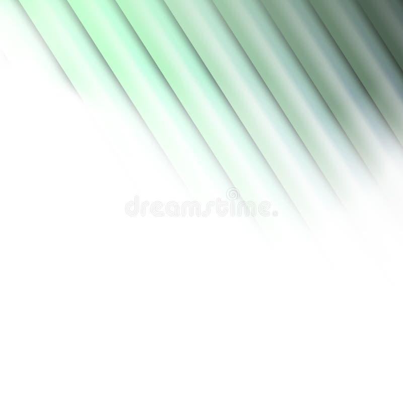 Зеленый стог экранов металла совместно иллюстрация вектора