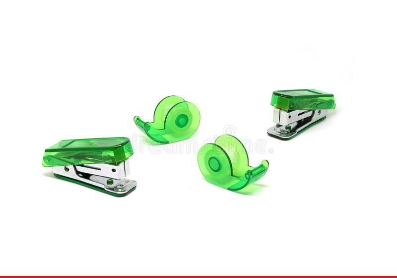 Зеленый сшиватель стоковые фотографии rf