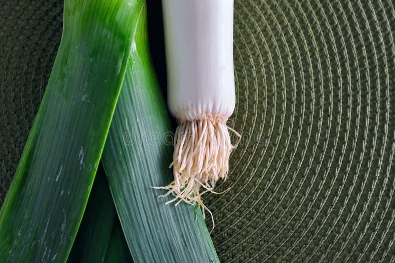 Зеленый лук лук-порея стоковые фотографии rf