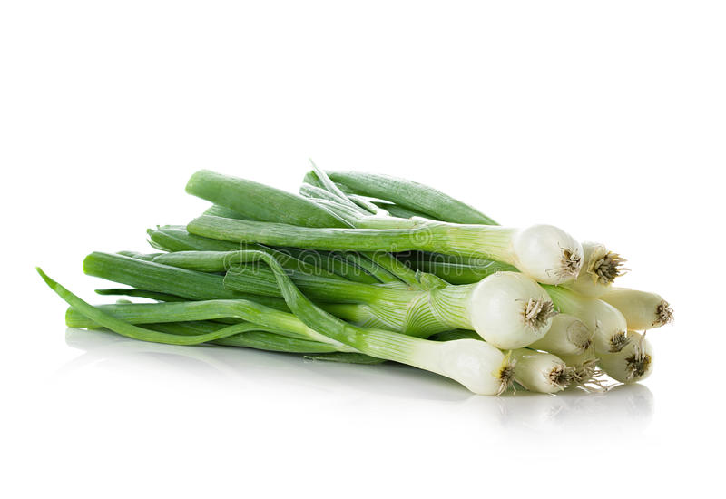 Зеленый лук стоковое фото rf
