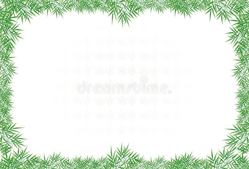 Зеленый цвет выходит граница иллюстрация штока