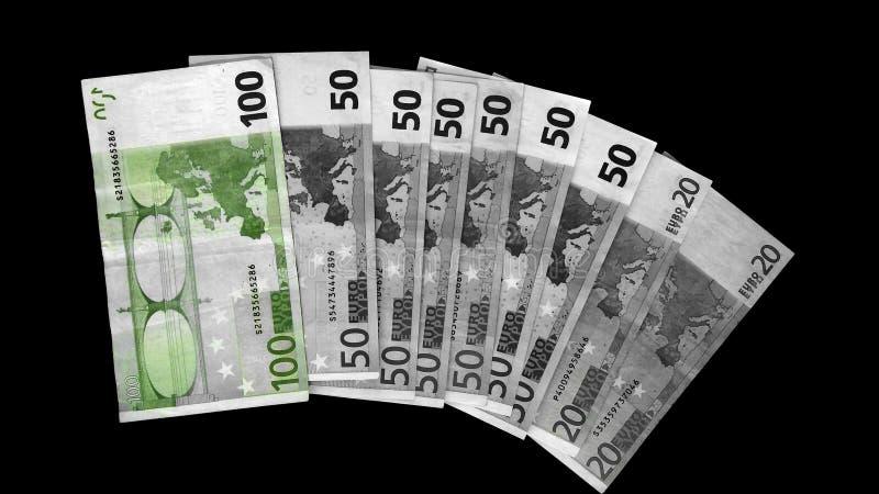 Зеленый цвет евро стоковое изображение