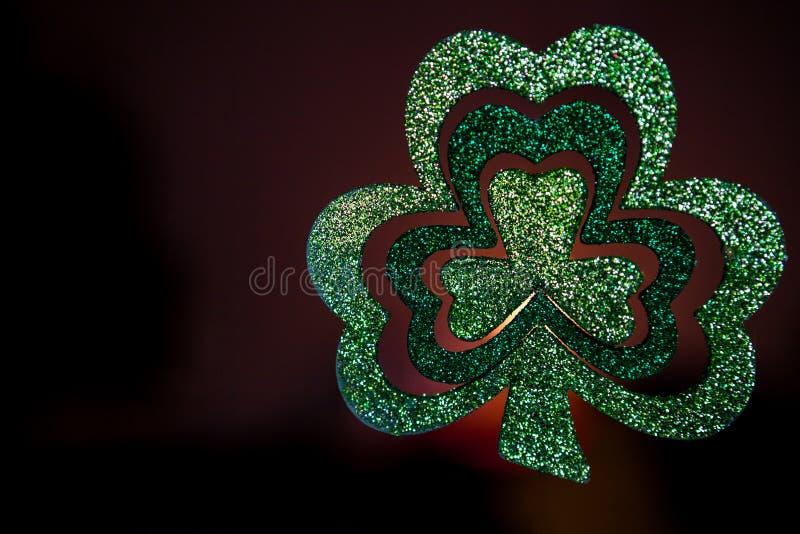 зеленый цвет клевера стоковые фото