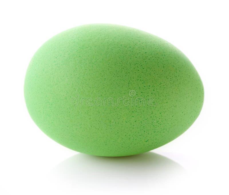 зеленый цвет пасхального яйца стоковое изображение