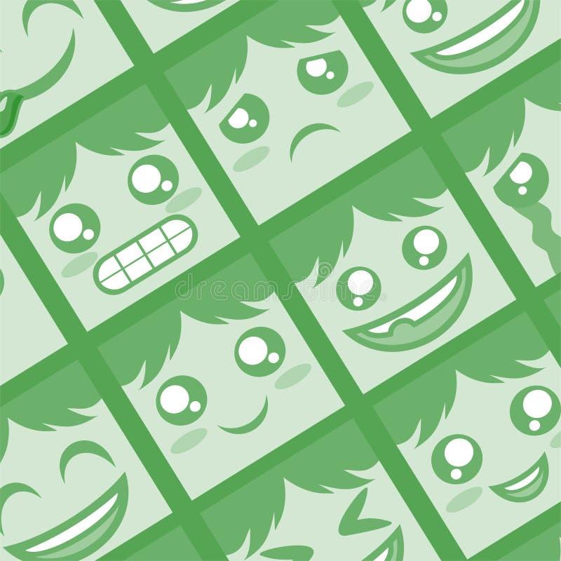 Зеленый цвет смотрит на предпосылку бесплатная иллюстрация