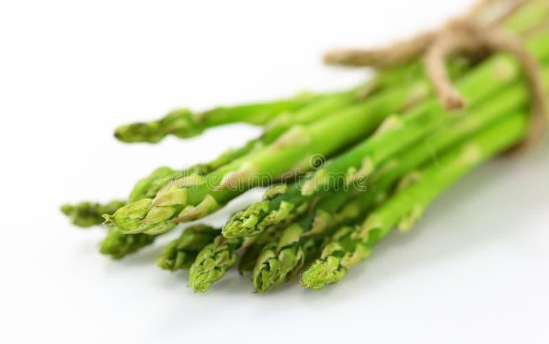 зеленый цвет спаржи свежий стоковая фотография