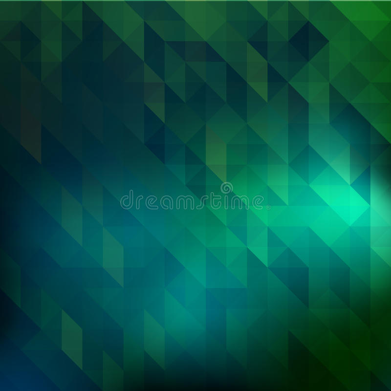 Зеленый цвет треугольника бесплатная иллюстрация