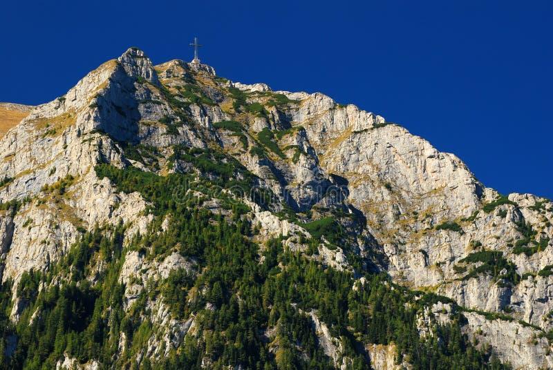 зига панорамы гор bucegi прикарпатская стоковые изображения