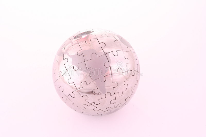 зигзаг глобуса стоковое фото rf