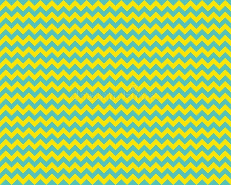 Зигзаг-узор бесшов Цвет фона Zag Zag Абстрактный дизайн вектора иллюстрация вектора