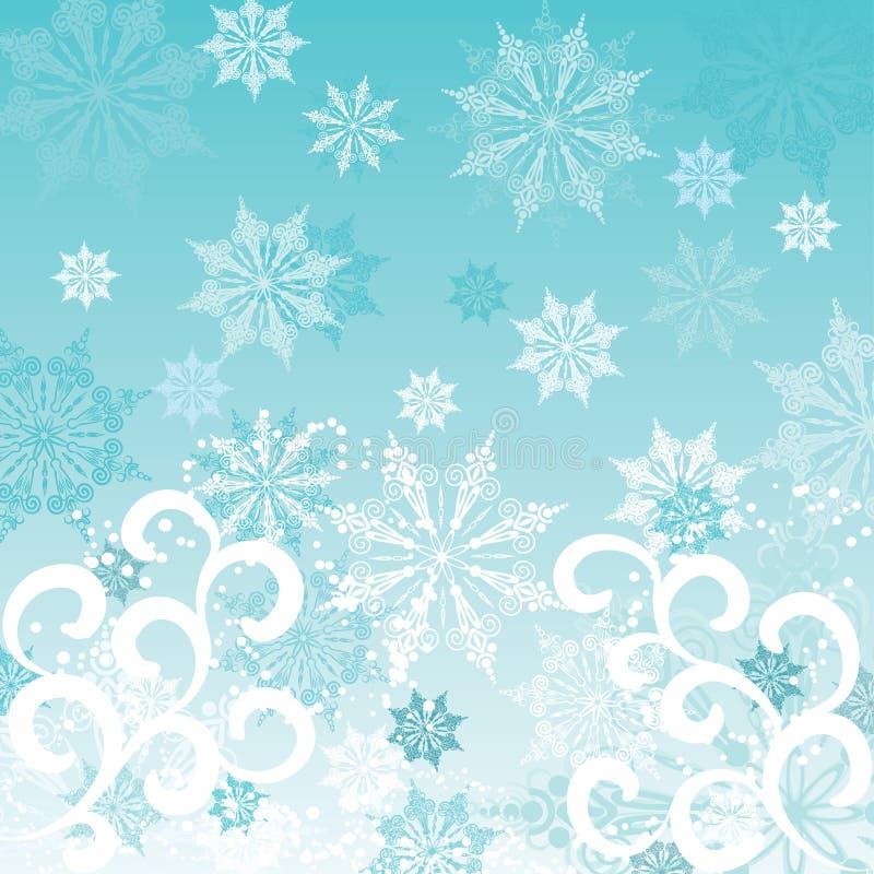 зима вектора предпосылки бесплатная иллюстрация