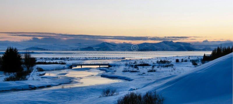 Зима в Исландии стоковые фото