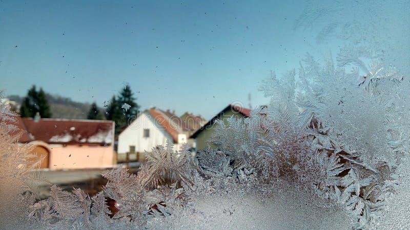 Зима в CR стоковое фото