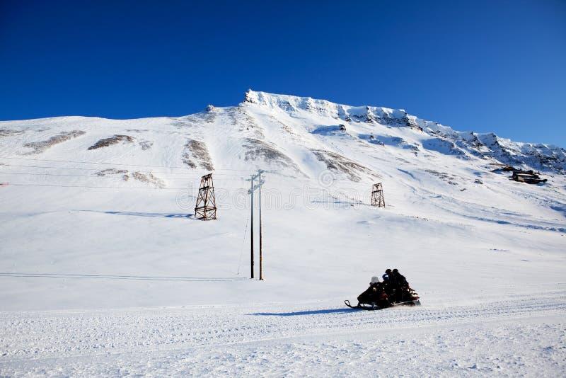 зима горы ландшафта стоковая фотография rf