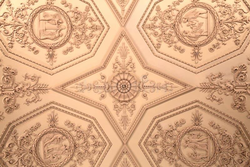 зима дворца потолка стоковая фотография rf
