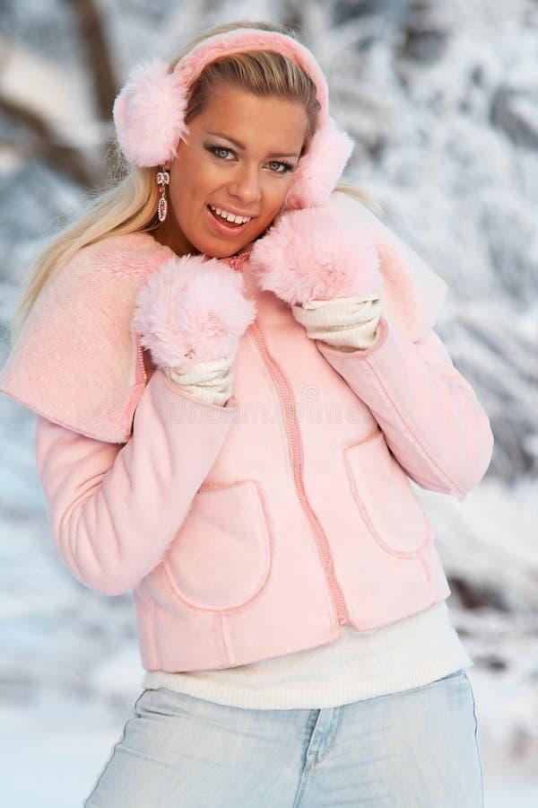 зима девушки подростковая стоковое изображение