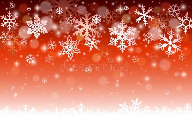 зима иллюстрации конструкции рождества предпосылки иллюстрация вектора