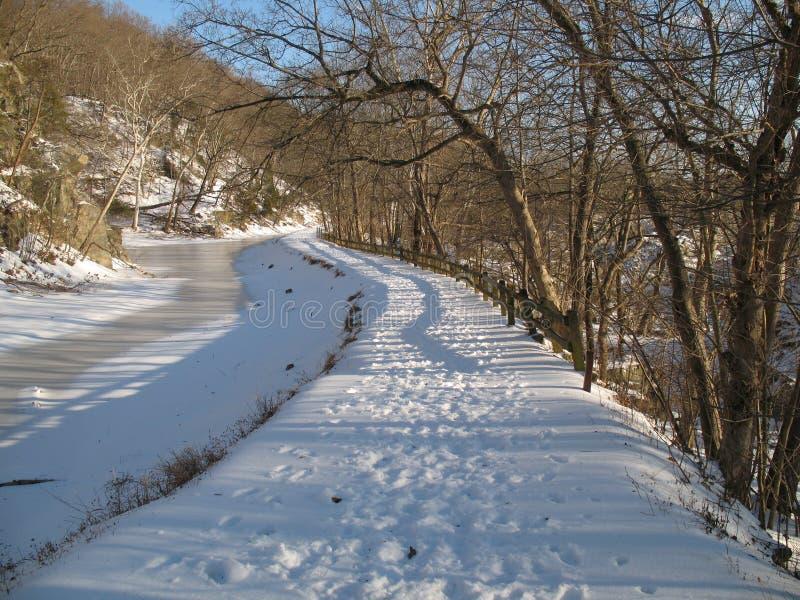 зима канала o c стоковые фотографии rf