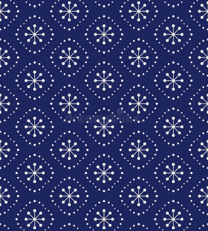 зима картины безшовная иллюстрация штока
