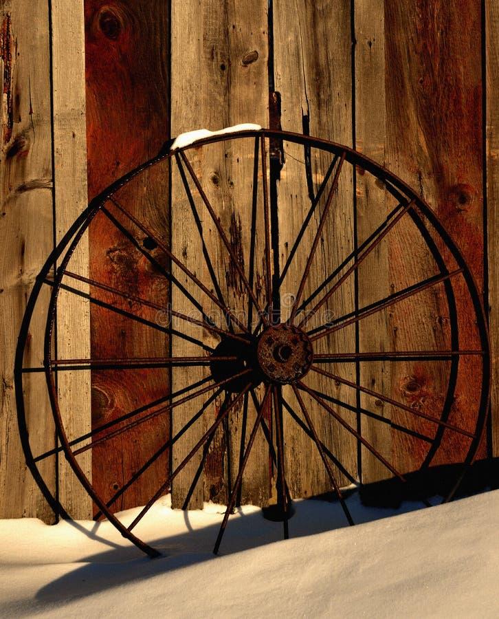 зима колеса стоковые изображения