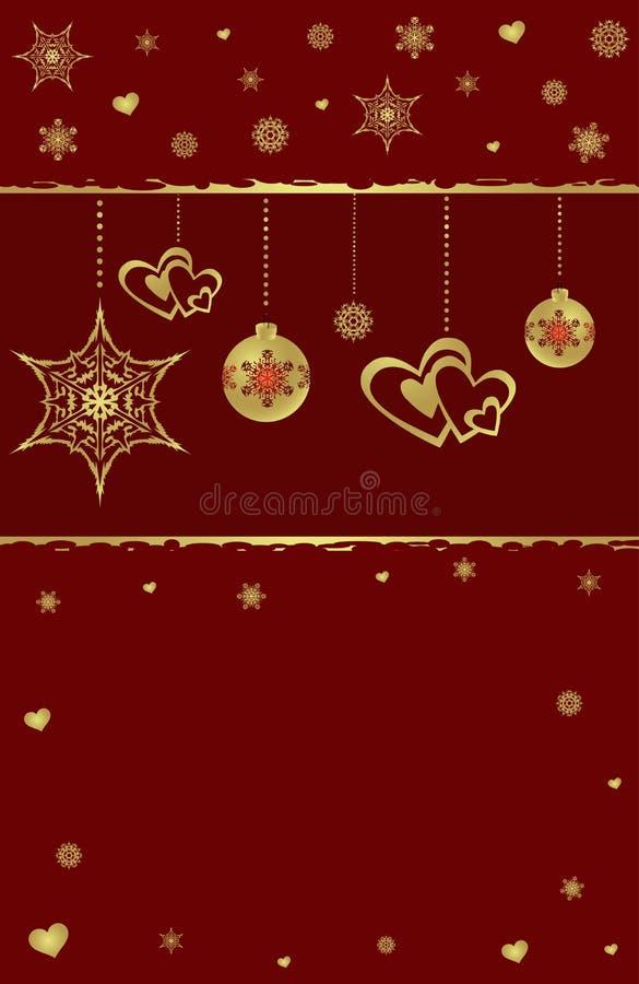 зима конструкции рождества предпосылки иллюстрация вектора
