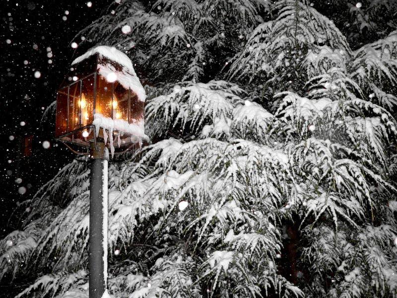 зима красивейшего места снежная стоковая фотография rf