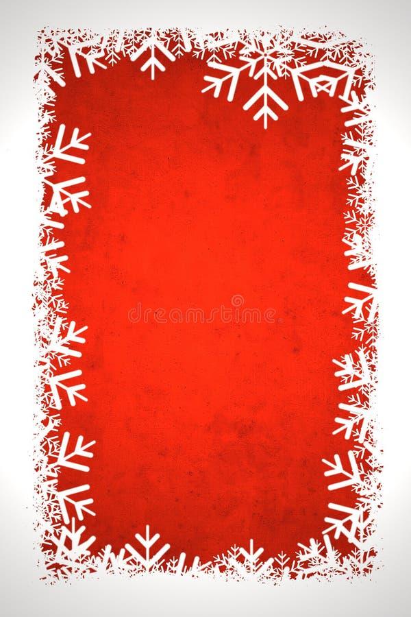 зима красного цвета предпосылки иллюстрация штока