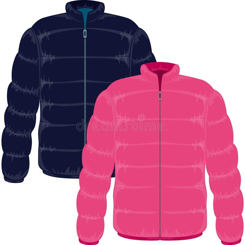 зима куртки бесплатная иллюстрация