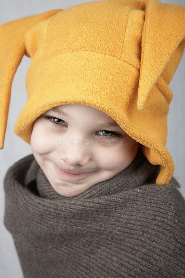 зима мальчика стоковое фото
