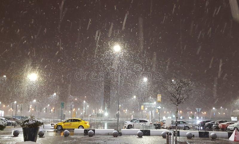 Зима Москва стоковое изображение