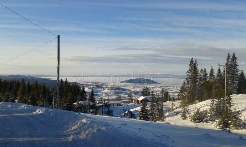 зима Норвегии стоковые изображения rf