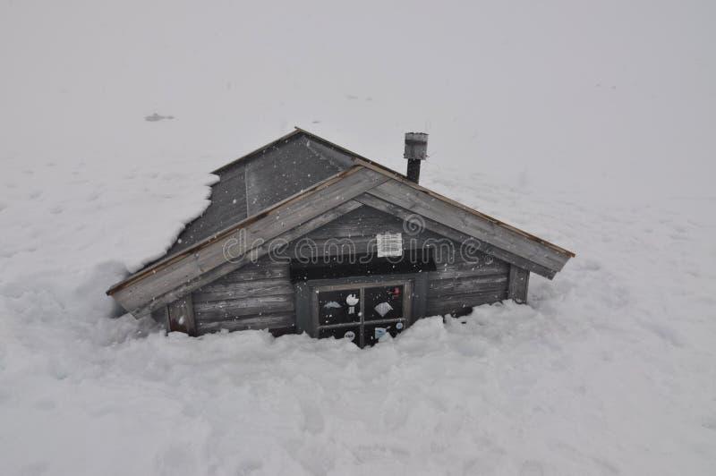 зима Норвегии стоковая фотография rf