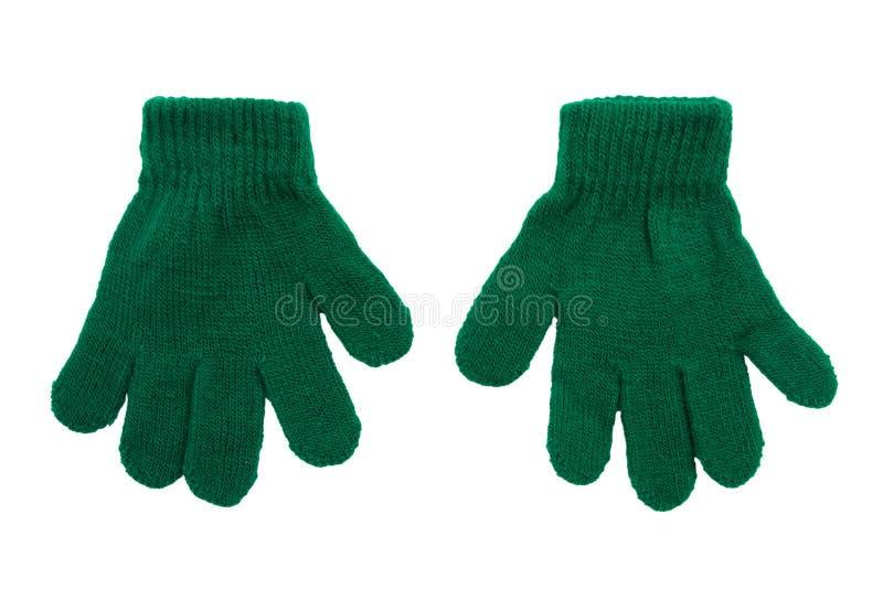 зима перчаток стоковое изображение rf