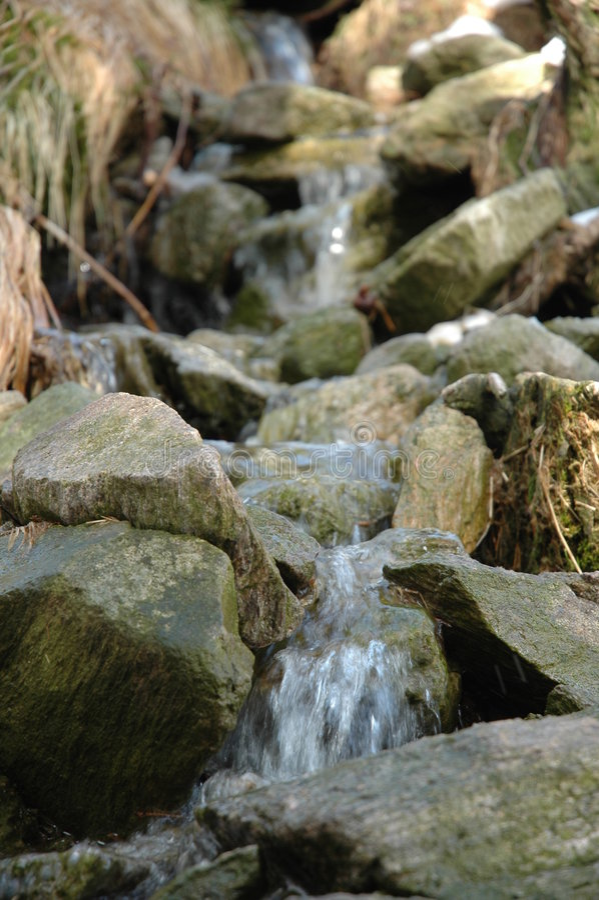 зима потока стоковое фото rf