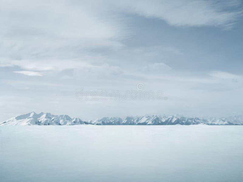 зима предпосылки красивейшая стоковая фотография rf