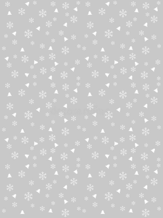 зима предпосылки серебряная иллюстрация штока