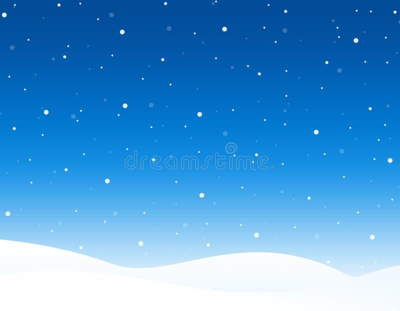 зима предпосылки иллюстрация штока