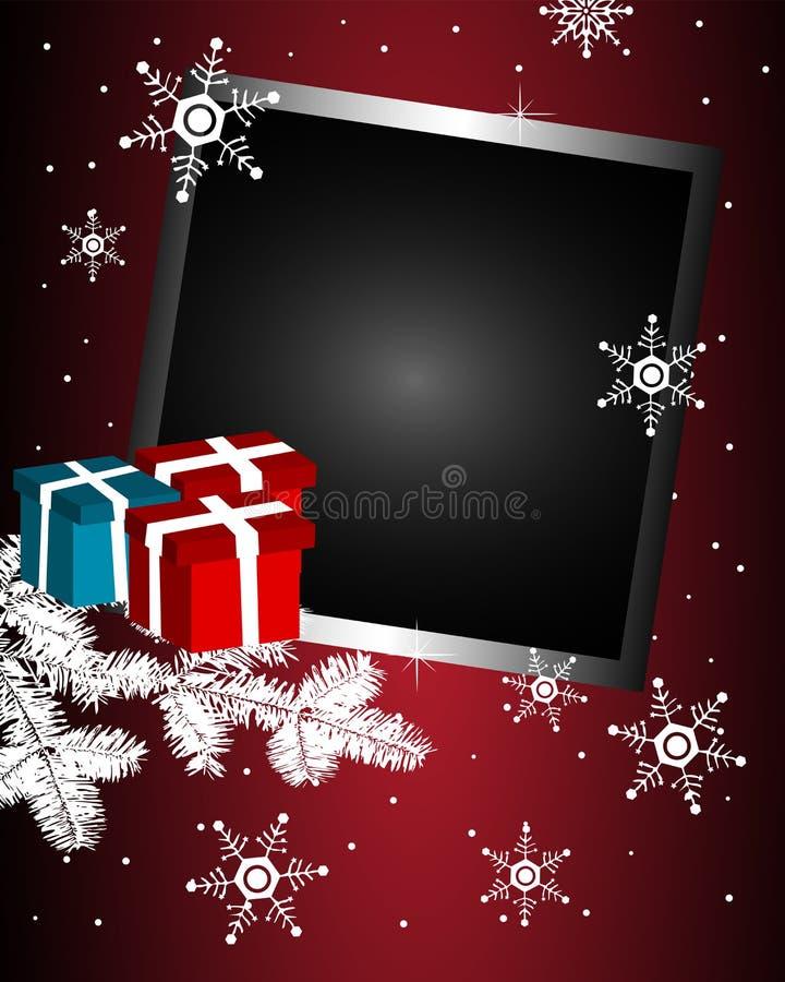 зима рамки бесплатная иллюстрация