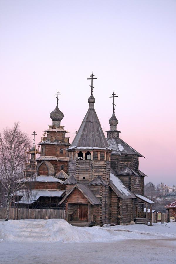 зима России suzdal стоковые фотографии rf