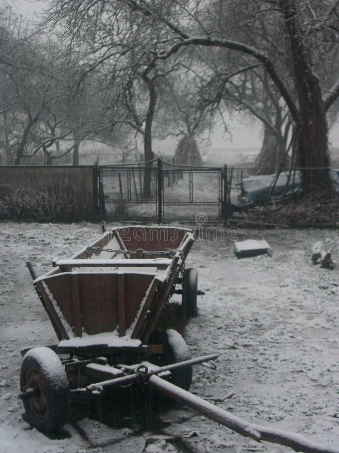 зима сада конструкции красотки предпосылки снежная ваша стоковое фото