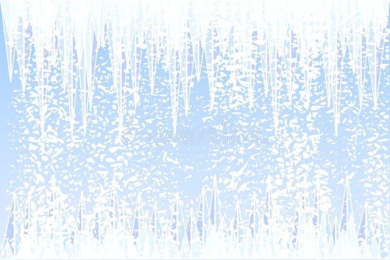 зима иллюстрация вектора