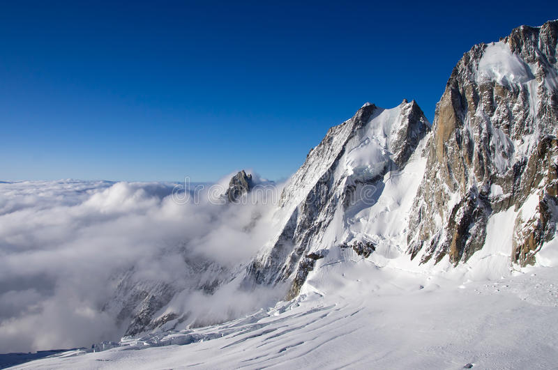 зима alps стоковое фото